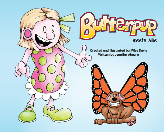 Butterpup and Friends Announces Debut Children's Book