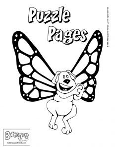 Butterpup and Friends Puzzle Pages for Kids | Free Download