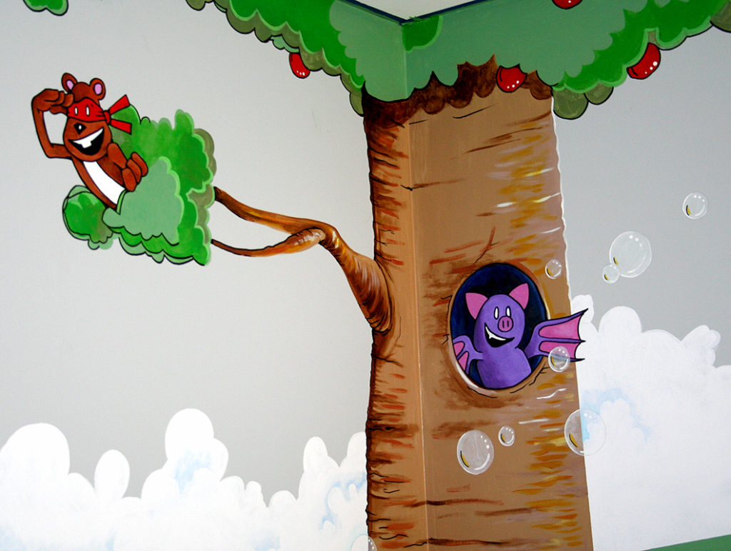Handpainted Murals of Butterpup & friends™