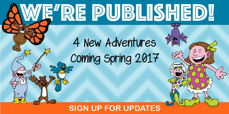 Butterpup and Friends to be Published!
